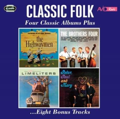 V/A - Classic Folk - Four Classic Albums Plus (2CD)