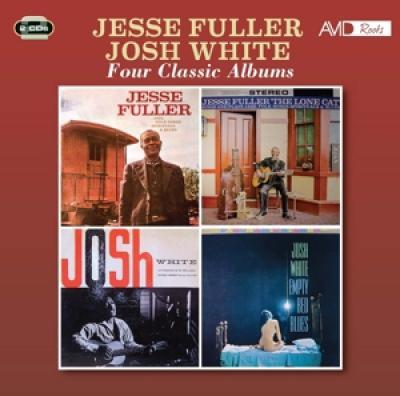 Fuller, Jesse & Josh White - Four Classic Albums (2CD)