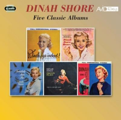 Shore, Dinah - Five Classic Albums (2CD)