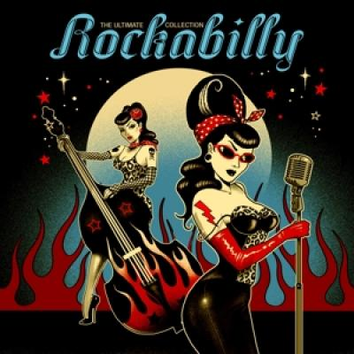 V/A - Ultimate Rockabilly Collection (Red Transparent Vinyl) (2LP)