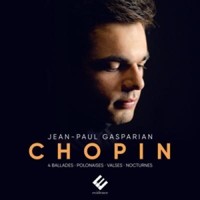 Jean-Paul Gasparian - Chopin 4 Ballades Polonaises Valses CD