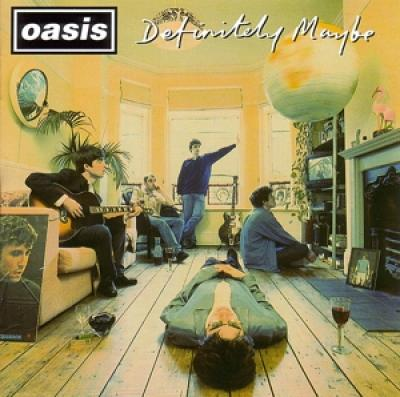 Oasis - Definitely Maybe (Silver Vinyl) (2LP)