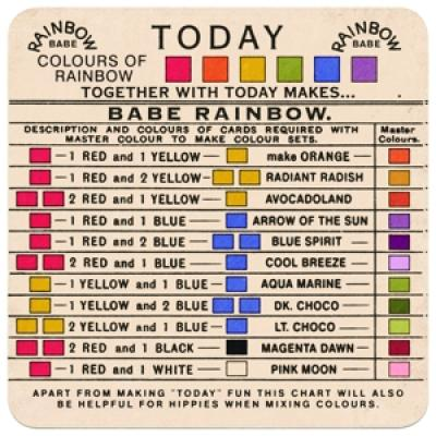 Babe Rainbow - Today (LP)