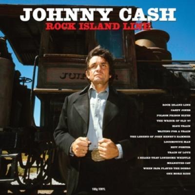 Cash, Johnny - Rock Island Line (LP)