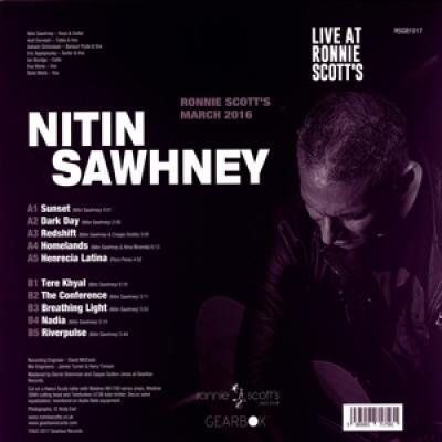 Sawhney, Nitin - Live At Ronnie Scott'S (LP)