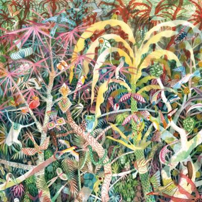 SANDERS, DIJF - Lichen (LP) (Yellow Vinyl)