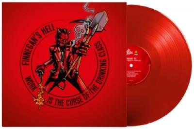 Finnegan'S Hell - Work Is The Curse Of The Drinking Class (Red Vinyl) (LP)