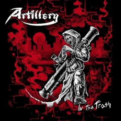 Artillery - In The Trash (Red/Black Vinyl) (LP)
