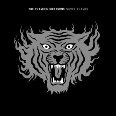 Flaming Sideburns - Silver Flames