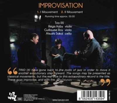 Trio Ixi - Improvisation CD