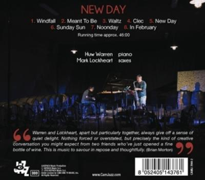 Huw Warren & Mark Lockheart - New Day CD