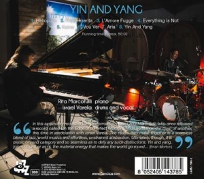Rita Marcotulli & Israel Varela - Ying And Yang CD
