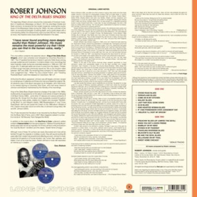 Johnson, Robert - King Of The Delta Blues Singers (Orange Vinyl) (LP)