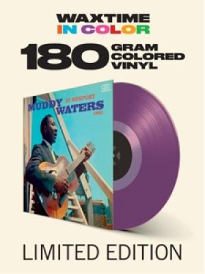 Waters, Muddy - At Newport 1960 (Transparent Purple Vinyl) (LP)