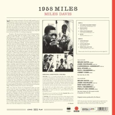 Davis, Miles - 1958 Miles (Transparent Red Vinyl) (LP)