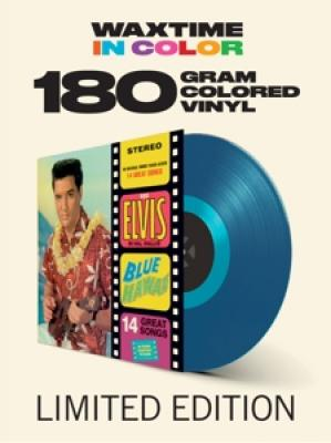Presley, Elvis - Blue Hawaii (Transparent Blue Vinyl) (LP)