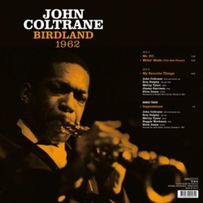 Coltrane, John - Birdland 1962 (LP)