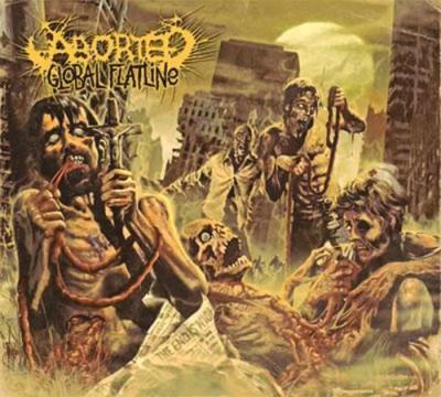 Aborted - Global Flatline (Standard Version) (cover)