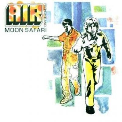Air - Moon Safari (LP) (cover)