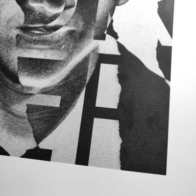 Alex Turner - A2 poster (Metapaper extra rough 175gr) (Ltd. 50ex)