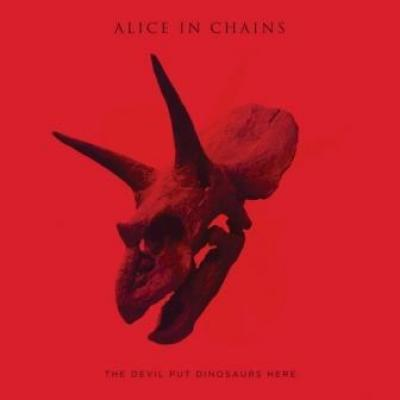 Alice In Chains - Devil Put Dinosaurs Here (LP) (cover)