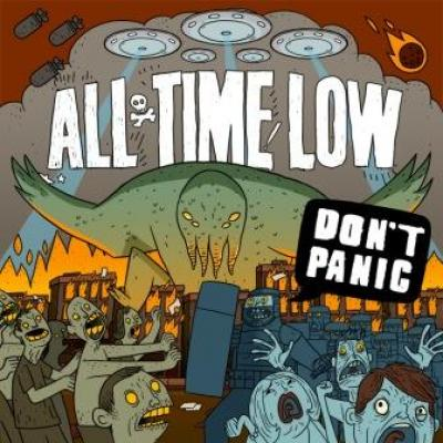 All Time Low - Don't Panic (cover)