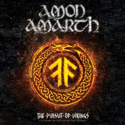 Amon Amarth - Pursuit of Vikings (25 Years In the Eye of the Storm) (BluRay+CD)
