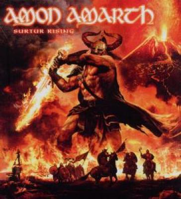 Amon Amarth - Surtur Rising (CD+DVD) (cover)