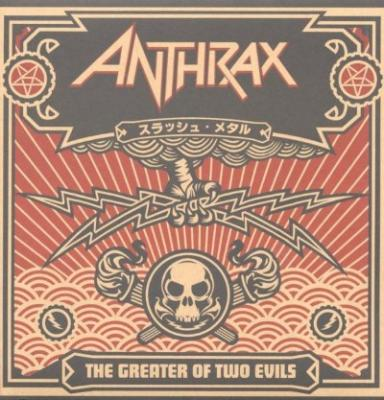 Anthrax - The Greater Of Two Evils (2LP)