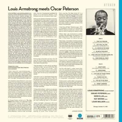 Armstrong, Louis - Meets Oscar Peterson (Blue Vinyl) (LP)
