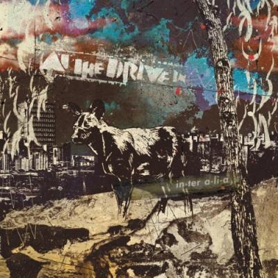 At the Drive-In - In.Tera.Li.A  (Bone/Black With Bone Splatter Colour) (LP)