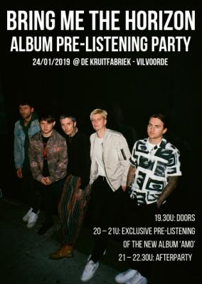 BMTH Pre-Listening Party