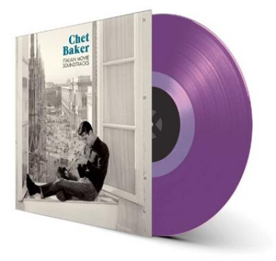 Baker, Chet - Italian Movie Soundtracks (Transparent Purple Vinyl) (LP)