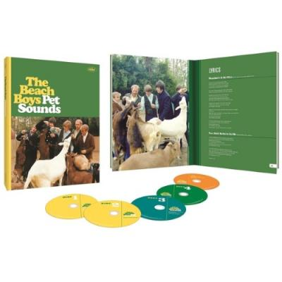 Beach Boys - Pet Sounds (Limited 50th Ann. Edition) (4CD+BluRay)
