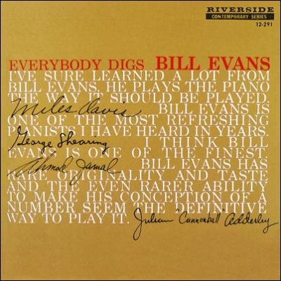 Evans, Bill -trio- - Everybody Digs Bill Evans (cover)