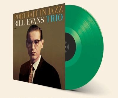 Bill Evans Trio - Portrait In Jazz (Limited) (Transparant Green Vinyl) (LP)