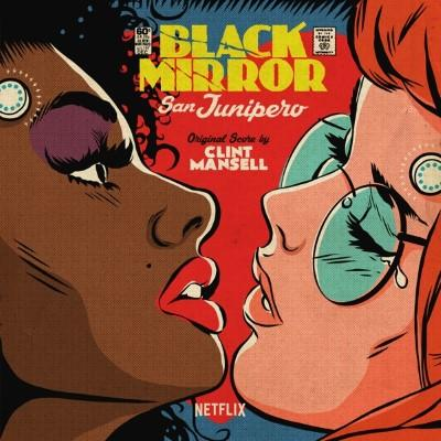 Black Mirror San Junipero (OST by Clint Mansell) (Purple Vinyl) (LP)