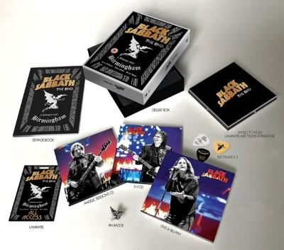 Black Sabbath - End (Live from Birmingham) + The Angelic Sessions (3CD+DVD+BluRay)