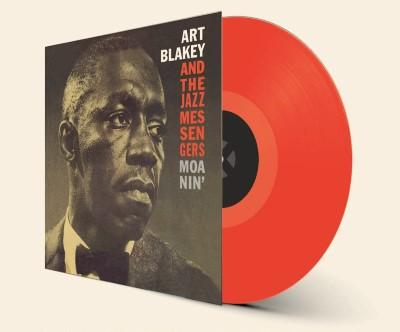 Blakey, Art & The Jazz Messengers - Moanin' (Limited) (Transparent Red) (LP)
