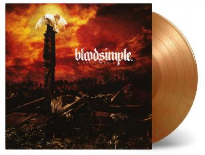 Bloodsimple - A Cruel World (Orange & Gold Vinyl) (LP)