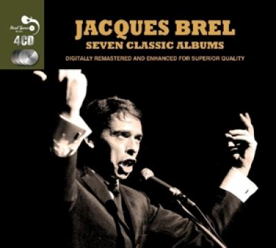 Brel, Jacques - 7 Classic Albums (cover)