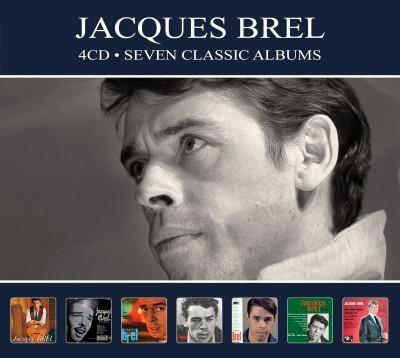 Brel, Jacques - Seven Classic Albums (4CD)