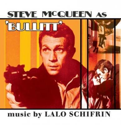 Bullit (OST by Lalo Schiffrin) (Orange Vinyl) (LP)