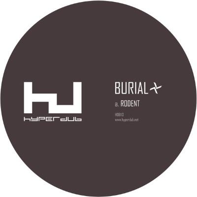 """Burial - Rodent (10"""")"""