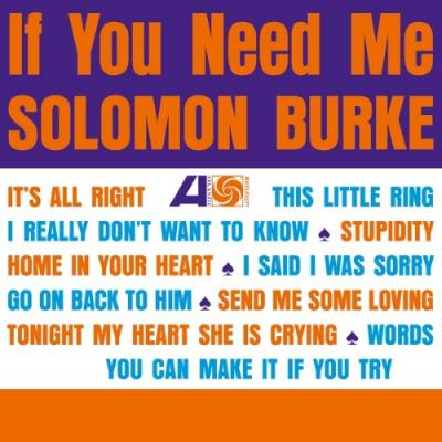 Burke, Solomon - If You Need Me (LP)