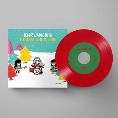 KHRUANGBIN - 7-Christmas Time is Here (7INCH) (Red vinyl)