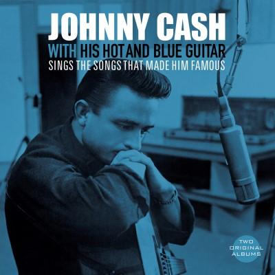 Cash, Johnny - With His Hot and Blue Guitar & Sings the Songs That Made Him Famous (Blue & White Vinyl) (LP)