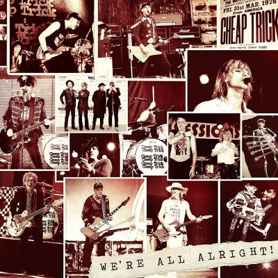 Cheap Trick - We're All Alright (LP)