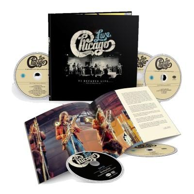 Chicago - VI Decades Live (4CD+DVD)