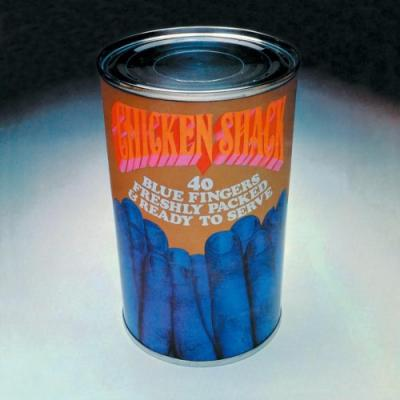 Chicken Shack - 40 Blue Fingers Freshly Packed and Ready To Serve (Transparent Blue Vinyl) (2LP)